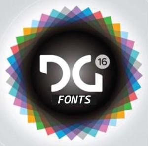DG16 Logo DG 16 Fonts Logo