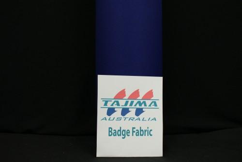 Navy Badge fabric