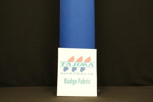Royal Blue Badge Fabric