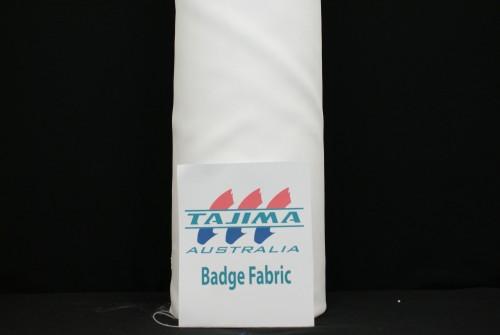 White badge Fabric
