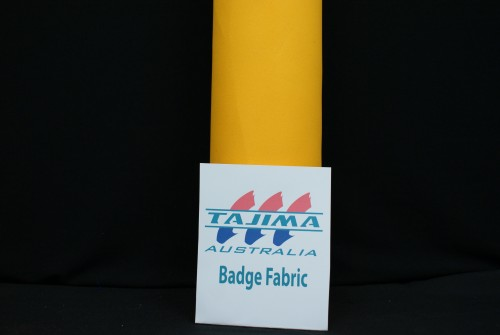 yellow badge fabric
