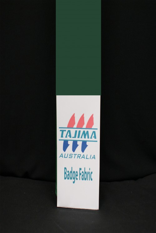 Bottle green Badge fabric