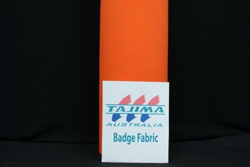 Orange Badge fabric